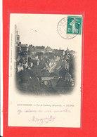 80 MONTDIDIER Cpa Vue Du Faubourg Becquerelle       Edit Gogry Dupuis - Montdidier
