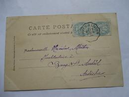 CONVOYEUR   PRIVAS  A  LIVRON     -    BINN     VALAIS .....       TTB - Marcophilie (Lettres)