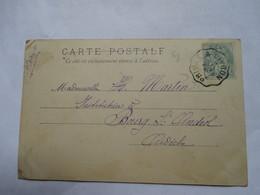 CONVOYEUR   PRIVAS  A  LIVRON     -    COUX .....       MINI  PLI - Marcophilie (Lettres)
