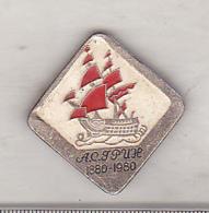 USSR Old Pin Badge  - Ship - Barcos
