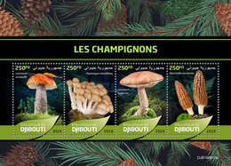 Djibouti. 2019 Mushrooms. (0610a) OFFICIAL ISSUE - Funghi