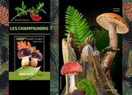 Djibouti. 2019 Mushrooms. (0610b) OFFICIAL ISSUE - Funghi
