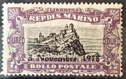 SAN MARINO 1918 - MLH - Sc# B16 - 2L - Unused Stamps