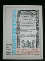 BRUGGE. Europese Cultuur In Postincunabelen 1501-1540. - Documents Historiques