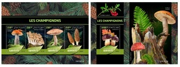 Djibouti. 2019 Mushrooms. (0610) OFFICIAL ISSUE - Funghi