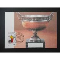 Carte Maximum - Roland Garros - 24/05/91 Paris - Maximum Cards