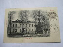 CONVOYEUR   THIERS  A   ST GERMAIN-DES-FOSSES    ....  VICHY          TTB - Marcophilie (Lettres)