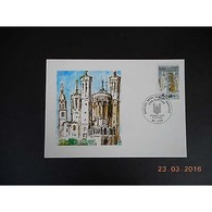 Carte Maximum - Basilique Notre Dame De Fourvière - 6/09/1996 Lyon - Maximum Cards