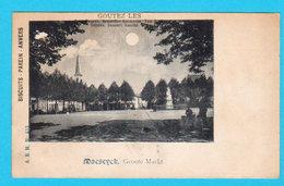 CPA MAESEYCK / MAASEIK : Groote Markt ( + Lune / Moon ) PUB. Biscuits PAREIN Anvers - A.B.M. N° 453 - 2 Scans - Maaseik