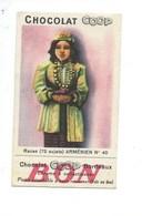 Chromo ARMENIA Armenie Arménienne Pub: Chocolat COOP TB 85 X 50 Mm 2 Scans - Autres