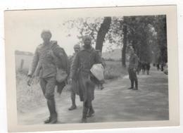Photo Originale Allemande Lot Capitaine Weber WWII Tirailleurs Sénégalais Prisonniers - Guerre, Militaire