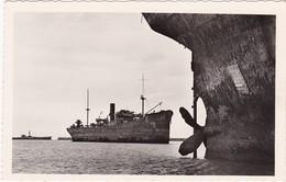 Militaria : ARROMANCHES-ST-COME - ASNELLES - Calvados : Port Winston - Port Artificiel ( C.p.s.m. - Photo. Véritable ) - Guerra 1939-45