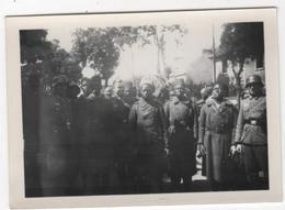 Photo Originale Allemande Lot Capitaine Weber WWII Tirailleurs Sénégalais Prisonniers - Guerra, Militari