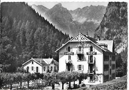 SUISSE - TRIENT - Vue Sur Le Grand Hôtel TRIENT - VS Valais