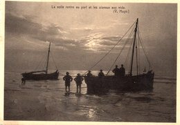 Middelkerke - Retour Vers Le Port / Naar De Haven Terug - Middelkerke