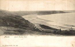 Nevin, Beach Looking West. Reino Unido // UK - Pays De Galles