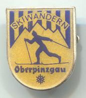 SKI SKIING JUMPING - SKIWANDERN, Oberpinzgau Austria, Vintage Pin, Badge, Abzeichen - Wintersport