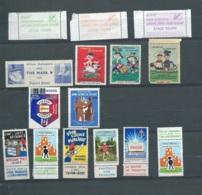 Lot De 15 Vignettes Diverses , Tout état  -  Aab 24503 - Commemorative Labels
