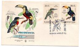 Carta De Primer Dia De Argentina 1967 - Non Classificati