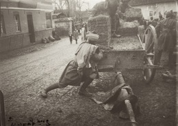 Plaque Photo Militaire 2èm Lancier à Rouen Guerre 14-18 WWI - Guerre, Militaire