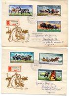 Serie Con Matasellos De Primer Dia 1968 Y Llegada A Madrid. - Lettere