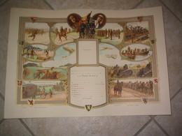 Diplome Belge De La Guerre 14-18 Vierge - 1914-18