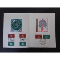 Encart De Luxe - Europa - 3 Oblit - 14/9/63 - Documents De La Poste
