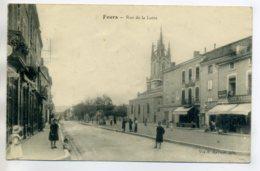 42 FEURS Anim Rue De La Loire CAFE PERRIER -Edit Vve Maymat -1917 écrite   /D18-S2017 - Feurs