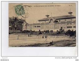 MERS - Le Jeu De Tennis Dans Les Jardins Du Casino - Très Bon état - Mers Les Bains