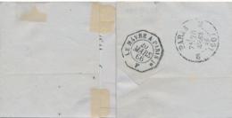 """AMBULANT CACHET D'ESSAI """" LE HAVRE A PARIS 1°  F  20/3/66 """" Sur Lettre Obl ELBEUF SEINE INFÉRIEURE > Paris - Marcophilie (Lettres)"""