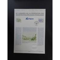 Document Officiel La Poste - Congrès Philatélique De Martigues - Documenten Van De Post