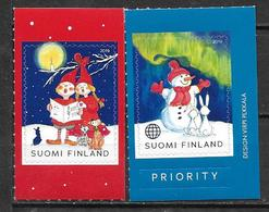 Finlande 2019 Timbres Neufs Noël - Finland