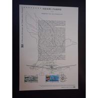 Document Officiel La Poste - Henri Fabre - Premier Vol En Hydravion - Documents Of Postal Services
