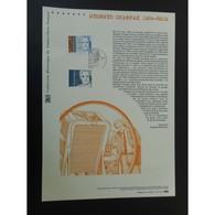 Document Officiel La Poste - Georges Charpak - Documents Of Postal Services