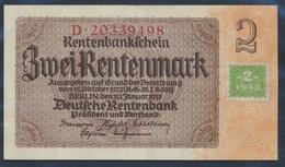 DDR Rosenbg: 331b, Kupon Auf Nr. 167b Gebraucht (III) 1948 2 DM Auf 2 RM (9398359 - [ 6] 1949-1990 : RDA - Rep. Dem. Tedesca