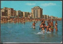 # Cartolina - Margherita Di Savoia - La Spiaggia - Viaggiata 1977 - Barletta