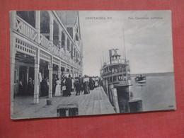 Pier Chautauqua   New York     Ref  3848 - Sonstige