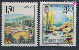Serbische Republik Bos.-H 125-126 (kompl.Ausg.) Postfrisch 1999 Natur- Und Nationalparks (8610114 - Bosnia Erzegovina