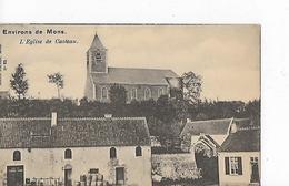 1 Cpa Environs  De Mons : Eglise De Casteau - Mons