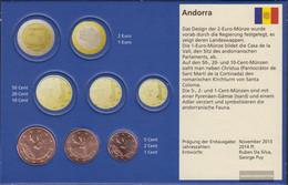 Andorra AND1- 3 2019 Stgl./unzirkuliert Stgl./unzirkuliert 2019 Kursmünzen 1, 2 And 5 Cent - Andorra