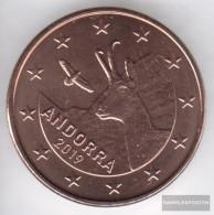 Andorra And 3 2019 Stgl./unzirkuliert Stgl./unzirkuliert 2019 5 Cent Kursmünze - Andorra