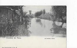 1 Cpa Environs  De Mons : La Trouille à Hyon - Mons