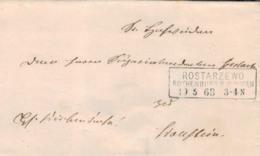 1868 ROSTARZEWO Bfh N. Wollstein - Deutschland