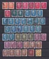 Deutsches Reich - 1928/32 - Freimarken: Reichspräsidenten - Sammlung  - Gest. - 79 Euro - Deutschland