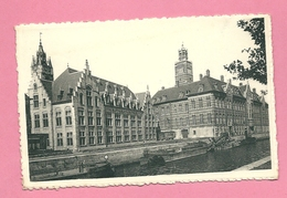 C.P. Dendermonde =  Achterzijde  Van Het Stadhuis  En Justitiepaleis - Dendermonde