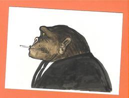 CP   UNGERER   Rauchaffe Oder Rauchen Ist Nicht Verboten, Sagen Viele Toten  (MUSEUM WÜRTH) - Ungerer