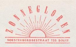 Meter Cover Netherlands 1983 Dawn - Sunbeams - Soest - Clima & Meteorologia