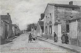 CPA La Veuve ( 51 Marne) Grande Rue Hôtel St Hubert - Other Municipalities