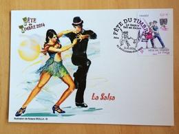 Fête Du Timbres 2014 1er Jour Danse, La Salsa - Dance