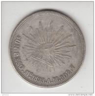 MEXICO 1898 UN PESO Replica (?) Read Description  #19933 - México